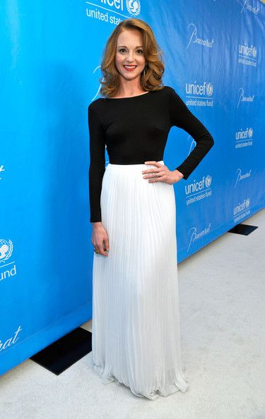 Something modern *gasp* But Jayma Mays' dress is lovely.