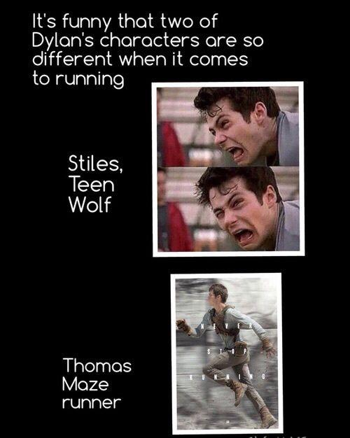 thomas, teen wolf, and stiles afbeelding