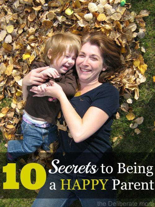 Parenting is tough. While there is all sorts of parenting advice and parenting tips out there, the information can be overwhelming. This post is meant to encourage mom and dad: 10 Secrets to Being a Happy Parent.