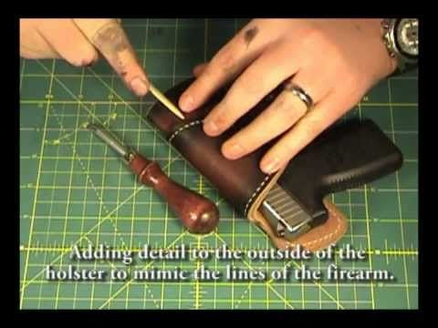 How to make a Leather Holster 3 of 3