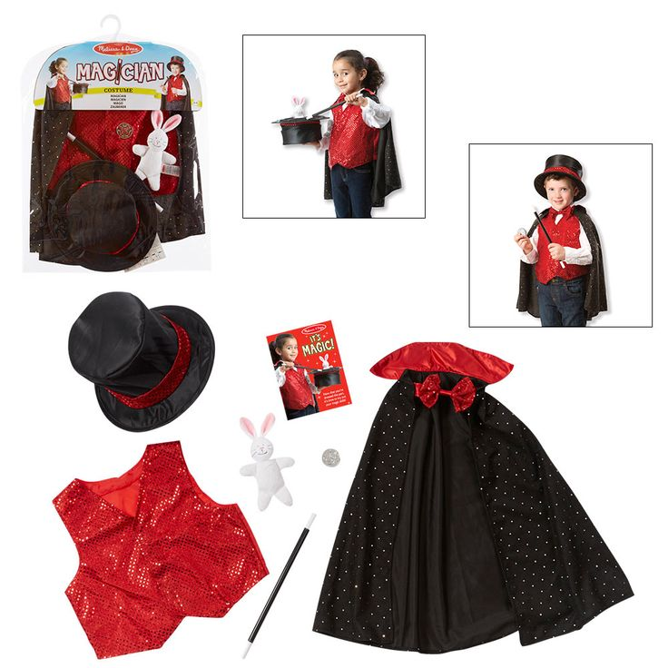 Magician Costume by Melissa and Doug
