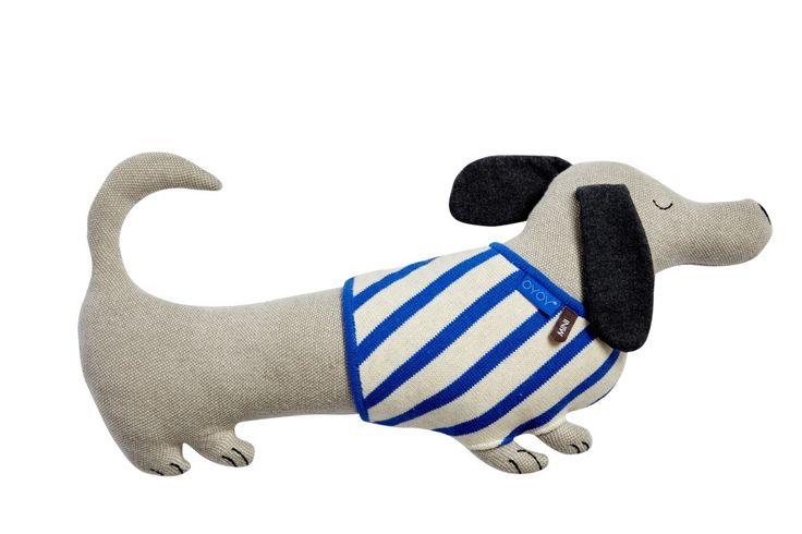 Slinkii  - Hoe lief is deze teckel? Het ideale vriendje om mee te knuffelen of op avontuur te gaan. Hij is wel 64cm lang.