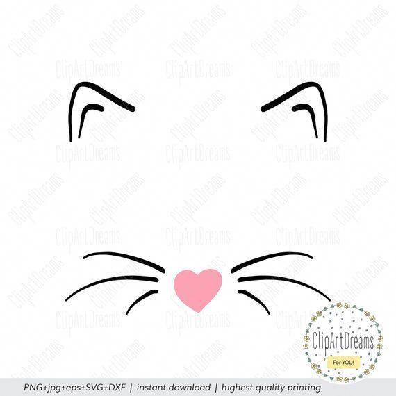 N95 Face Masks 10 Pack Monogram Svg Cat Ears Svg
