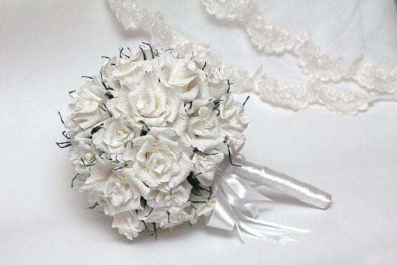Wedding bouquet. Bridal bouquet wedding by FlowerDecoration, $65.00