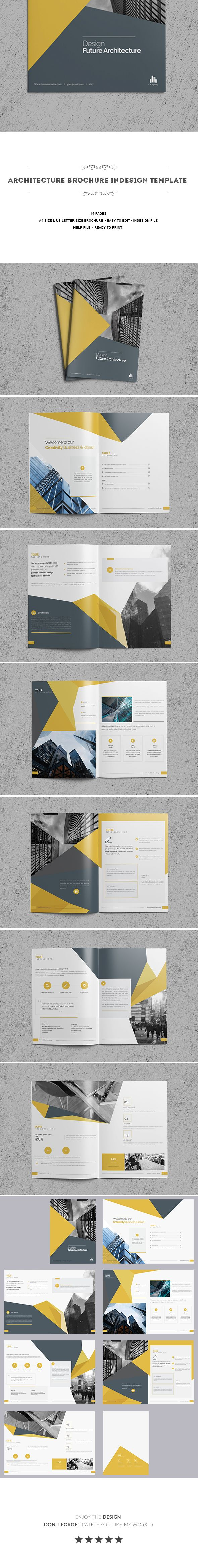 26 best Brochure Indesign Template images on Pinterest | Folletos ...