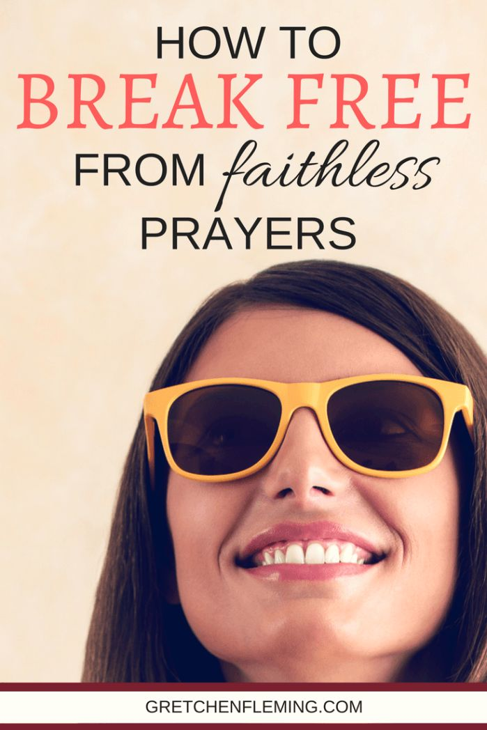 Why is it easy to miss what should be obvious? Is there ANY way to prepare ourselves for a better response in this brand new year? How can we break free from faithless prayers? Here is an article that will offer you hope, help, encouragement, and practical instruction for how you can begin to pray with more faith.