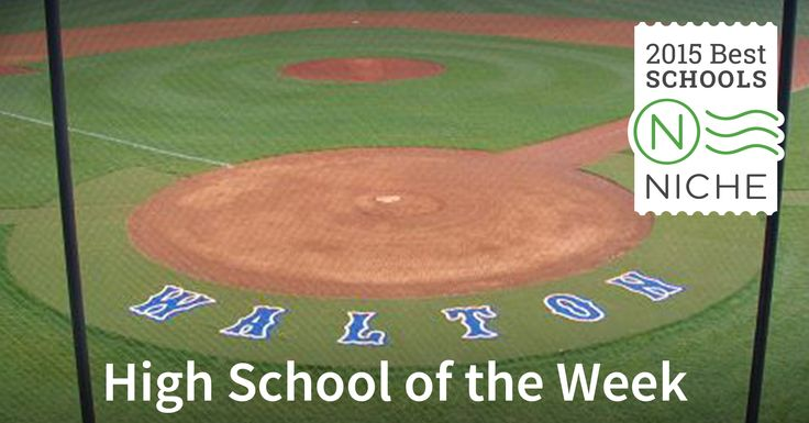 #Walton High School in #Georgia is one of our excellent Niche High Schools of the Week. Find more information on Walton High School at https://k12.niche.com/walton-high-school-northeast-cobb-township-ga/