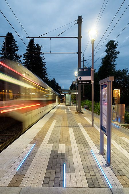 Civic Drive Max Station - Google Search ...paving light strip integration/color blocking