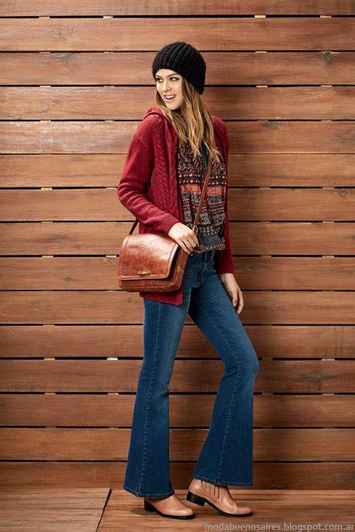 Kevingston Mujer otoño invierno 2015. Moda pantalones oxford otoño invierno 2015.