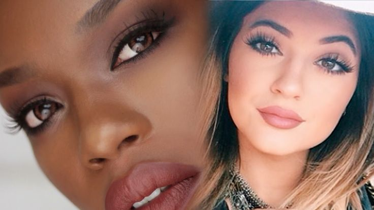 Kylie Jenner Nude Lip Tutorial