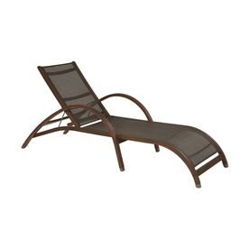 17 best images about lowes woodwinds eucalyptus patio for Allen roth steel patio chaise lounge