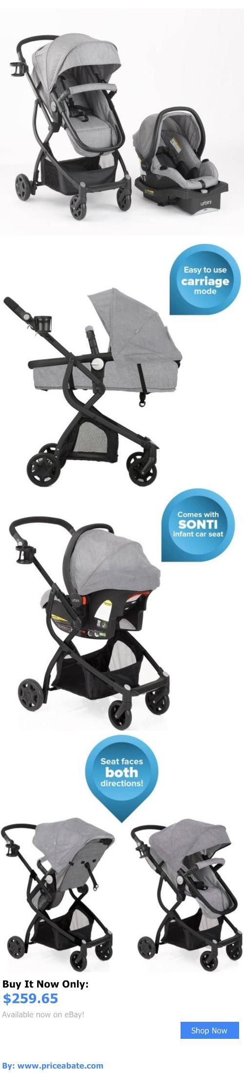 Baby and kid stuff 3 in1 baby stroller car seat travel system infant carriage buggy