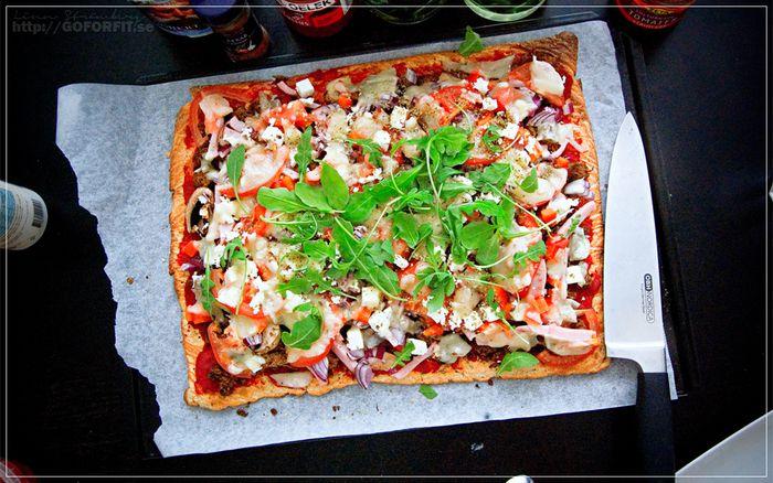 GoForFit.se - Nyttig Glutenfri Pizza