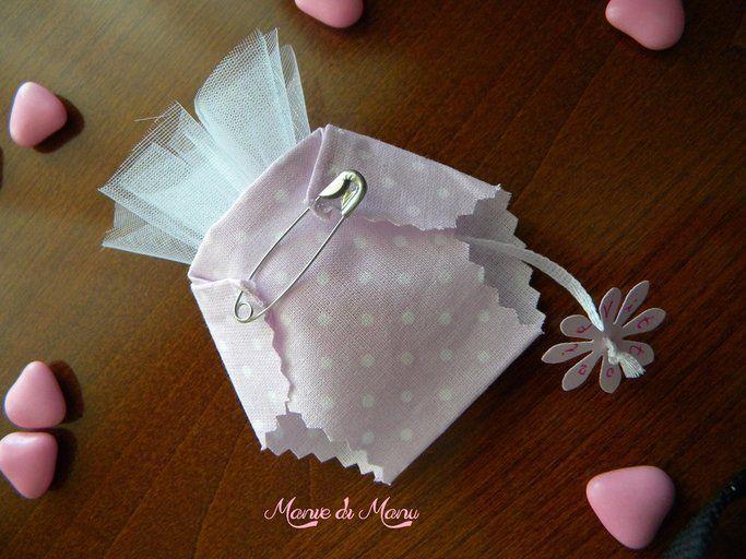 Pannolino porta confetti - idee creative, riciclo creativo, fai da te creativo, lavori creativi | myCandyCountry.it