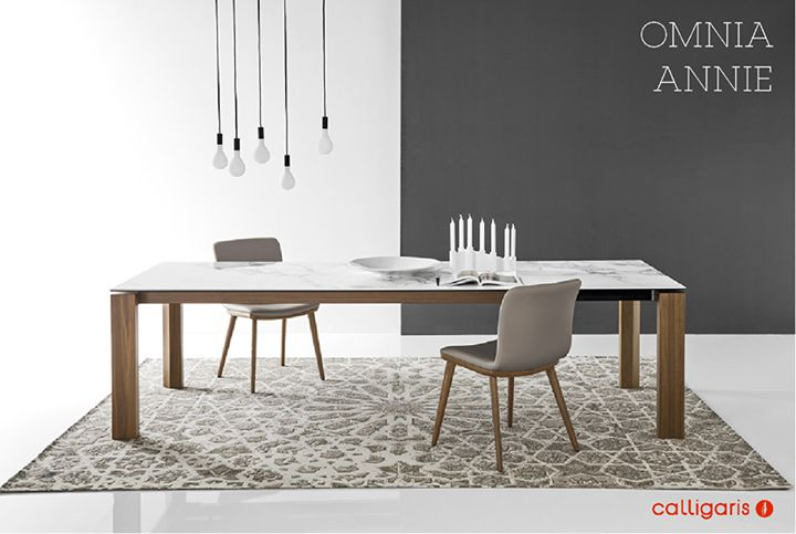 CALLIGARIS: We have selected a Dining Set with an elegant and contemporary style, drawing fr ... http://www.davincilifestyle.com/calligaris-we-have-selected-a-dining-set-with-an-elegant-and-contemporary-style-drawing-fr/   We have selected a Dining Set with an elegant and contemporary style, drawing inspiration from Nordic and crafted from strong character materials. Omnia table with ceramic top http://cllgr.is/omnia-table Annie chair – New introduction of the 2016 Co