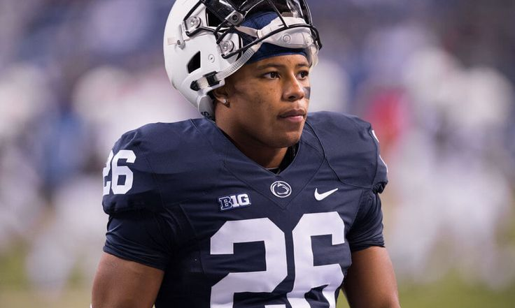 Penn State RB Saquon Barkley may be open to skipping bowl game = Penn State running back Saquon Barkley was watching as LSU running back Leonard Fournette and Stanford running back Christian McCaffrey both sat out their bowl games. Not only did it not hurt their draft stock, but they both went in…..