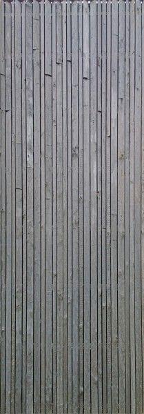 mur de façade en lamelles de bois architecture moderne sur photogare.com