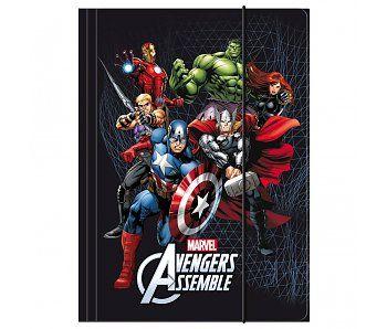 Marvel Avengers Elastomap A4