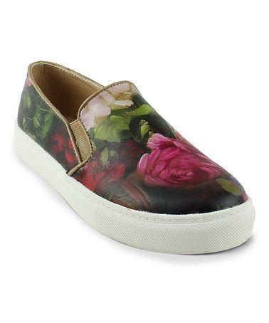 Another great find on #zulily! Red Kola Slip-On Shoe #zulilyfinds