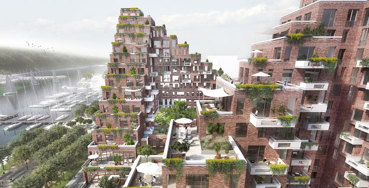 AART to Revitalize Aarhus Port District with Terraced Mixed-Use Complex