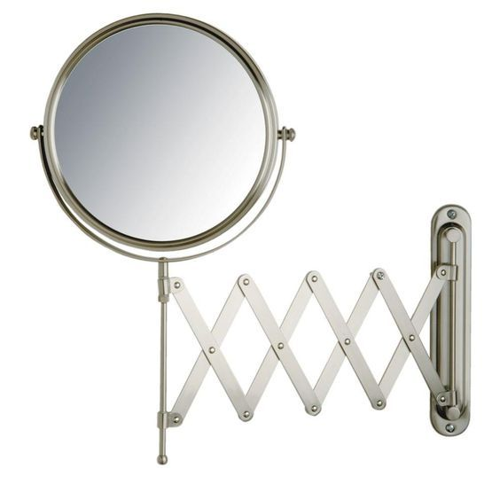 17 best ideas about wall mounted mirror mirror jerdon 16 in x 9 in wall mount mirror in matte nickel nickel