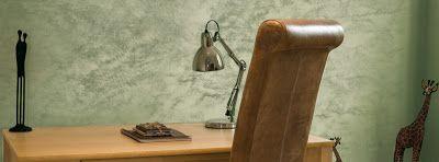 La decorazione a Encanto produce una decorazione a effetti sfumati e consente di ottenere una sofisticata velatura sulle superfici dando vita a splendidi giochi di luce con riflessi di colore oro,argento e grigio.