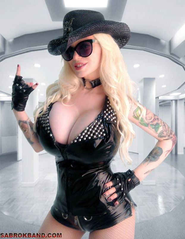 Sabrina sabrok sexy punk singer with the biggest breast - 5 2