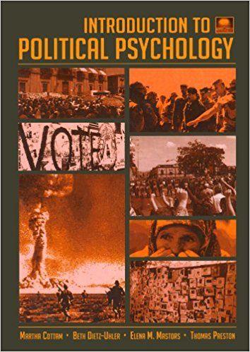 Free Download Introduction to Political Psychology: 2nd Edition -  [FREE] Registrer - By Martha L. Cottam