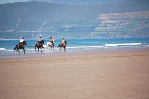 Gallop along glorious beaches in Co Kerry,Ireland *Unicorn Trails* horse riding holidays Ireland, horseback vacation Co Kerry.  OMG I really, really, really want to do this!