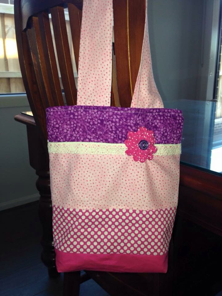 Girly tote gift