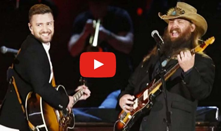 Chris Stapleton and Justin Timberlake's Stunning CMA Awards Duet Will Blow Your Mind