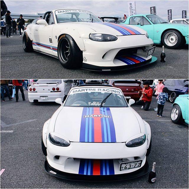 Topmiata On Instagram Mazda Miata Mx 5 Topmiata Miata Top Miata Martini Racing