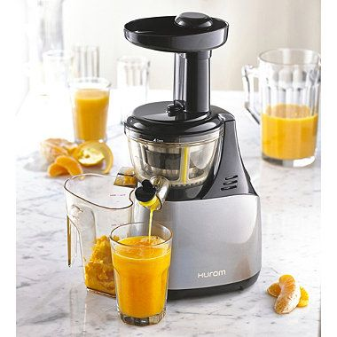 Hurom Slow Juicer Orange Juice : Hurom Juicer www.lakeland.co.uk/17950/Hurom-Juicer?src=pinit Juicing Pinterest I want ...