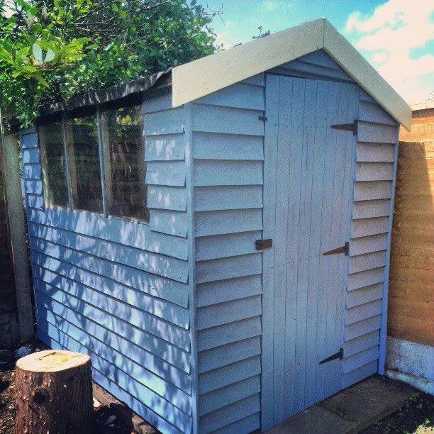 """6 Likes, 3 Comments - Jessica Lynch (@its_not_a_blog_thing) on Instagram: """"Been busy painting my shed as was rather tatty but couldn't afford a new one, still a few things to…"""""""