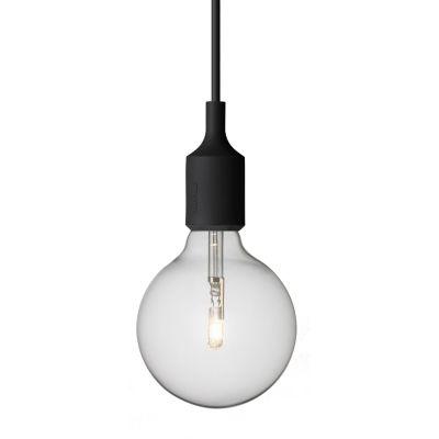 E27 lampa, svart i gruppen Belysning / Lampor / Taklampor hos RUM21.se (102562) Som fönsterlamta