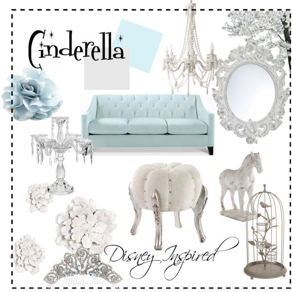 """Cinderella"" by jenbrooks on Polyvore  smallworldbigfun.com  #disney #disneyhome"