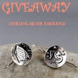 Win a Sterling Silver Earrings ^_^ http://www.pintalabios.info/en/fashion-giveaways/view/en/2482 #International #Jewelry #bbloggers #Giweaway