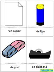 Flitskaarten thema school om met anderstalige nieuwkomers en leerlingen Nederlands te oefenen. Speel allerlei spelletjes en verrijk hun Nederlandse kennis.