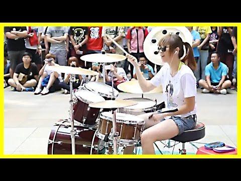 Best Musique Dans La Rue Vidéos Images On Pinterest Music - Street drummer uses nothing more than scrap metal to creating amazing techno beats