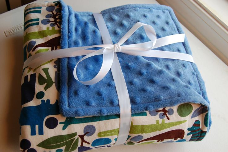 DIY: Minky blanket! I need to learn how to make this!