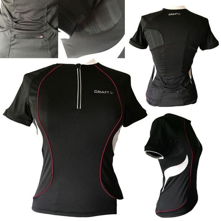 CRAFT Womens Cycling Biking L1 Ventilation Short Sleeve Jersey T-Shirt SIZE S | eBay