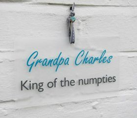personalised gift wall plaque sign King of the the... - Another Gorgeous Day.  King of the numpties, I really love this one.