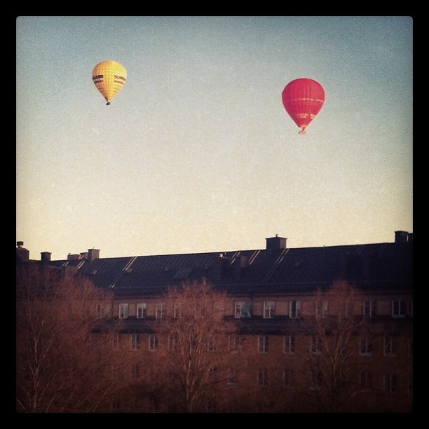 Air balloons, Stockholm City