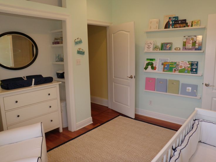 Finished Nursery Ikea Ribba Picture Ledges For Books