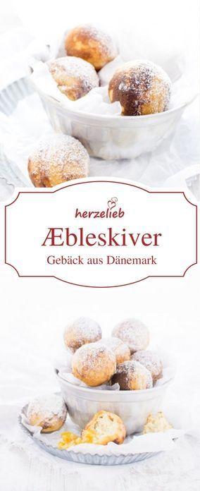 Dänische Rezepte: Æbleskiver aus Dänemark - Rezept von herzelieb #deutsch #foodlbog #foodlbogger #backen