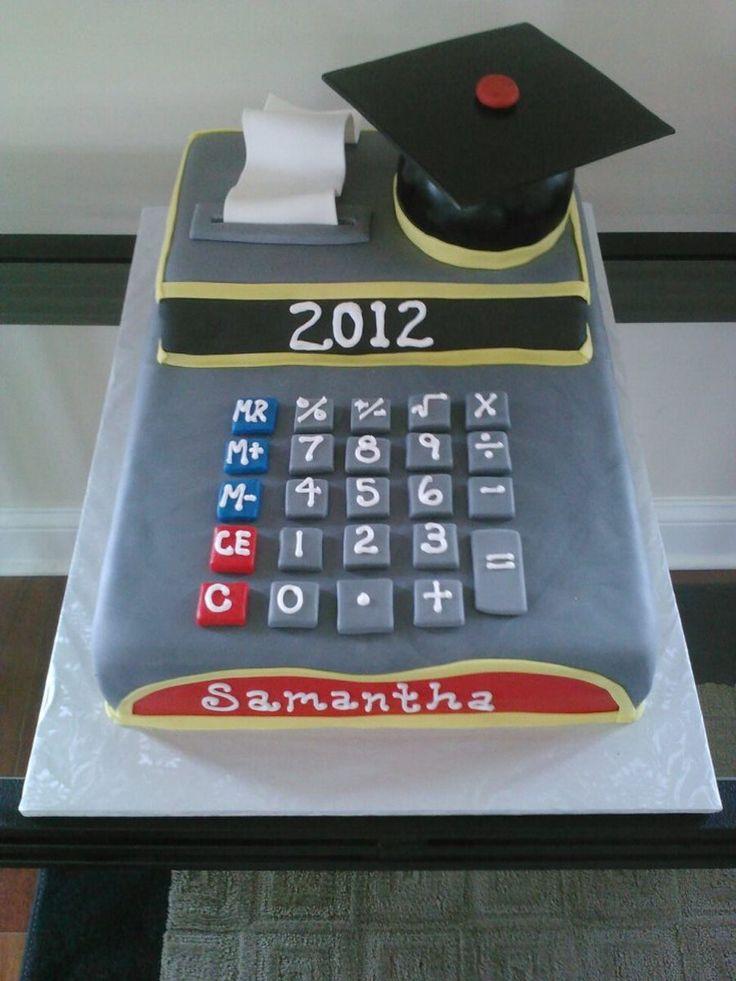 Accounting Graduation Cake Cake Ideas Pinterest