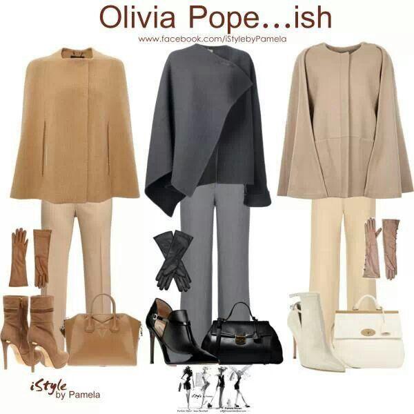 Olivia Pope'ish