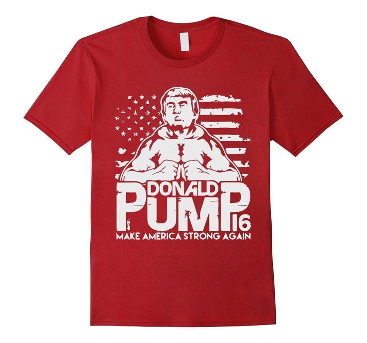 Funny - Donald Pump 2016 Elections T-Shirt