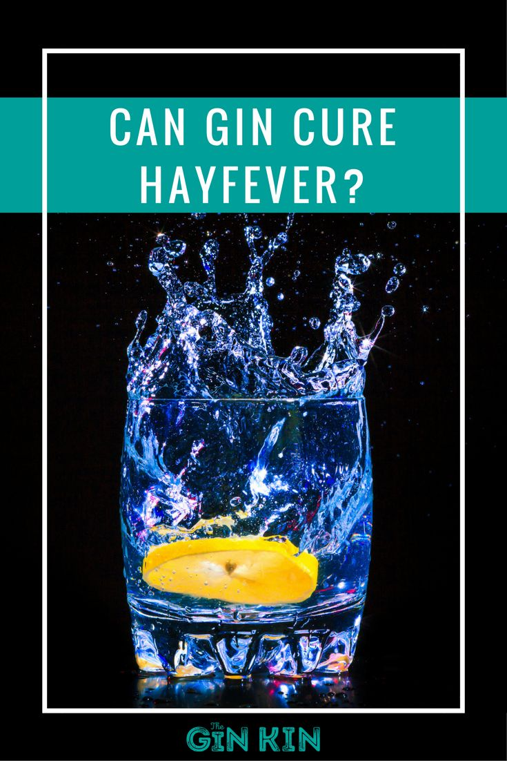 For hayfever sufferers, this news is a #gin come true!