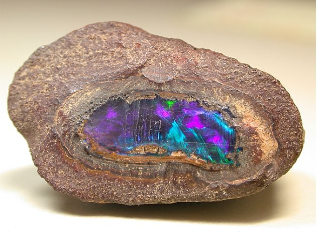 another pinner says ~  Our Earth sous cloche - Opal from Australia